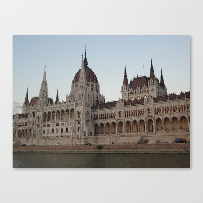 Hungarian Parliament Canvas Print