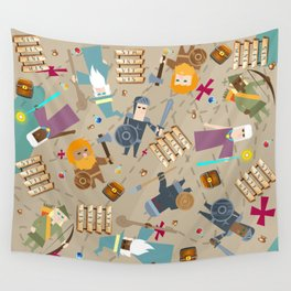 Treasure Chests & Potions Wall Tapestry