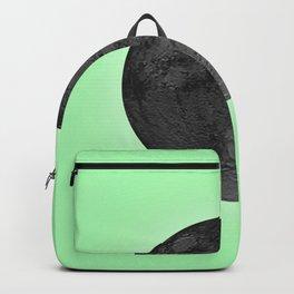 BLACK MOON + LIME GREEN SKY Backpack