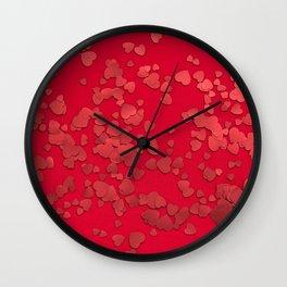 love #society6 #decor #buyart Wall Clock
