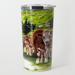 Herd It Throught the Grapevine Travel Mug
