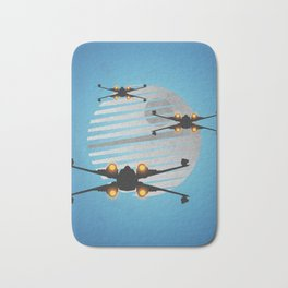 xwing fighter, wars star Bath Mat