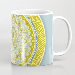 Mustard Mandala Coffee Mug