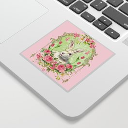 Spring Bunny Sticker
