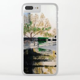 Tramstop Clear iPhone Case