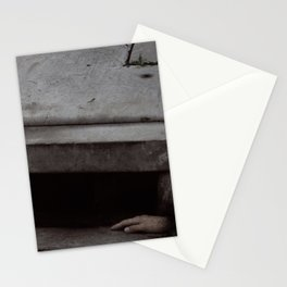 SCENE FROM 1984 BY GEORGE ORWELL PROLE KILLED BY STEAMER Stationery Cards
