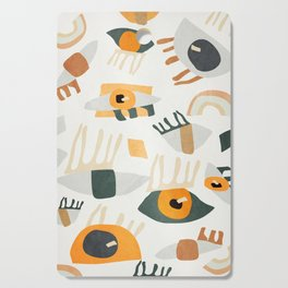 Abstract Art Eyes Cutting Board
