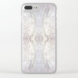 Crystal Daydreams Clear iPhone Case
