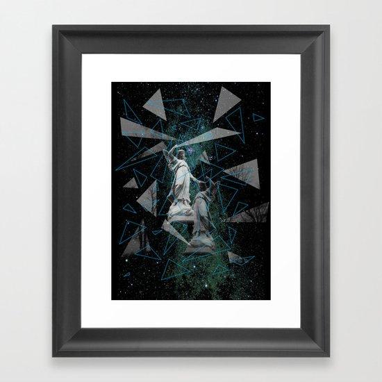 Celestial Mystery Framed Art Print