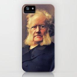 Henrik Ibsen, Literar Legend iPhone Case