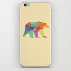 Fractal Geometric bear iPhone & iPod Skin