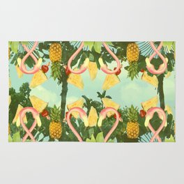 Tropical punch Rug