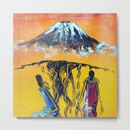 The Snows of Kilimanjaro Metal Print