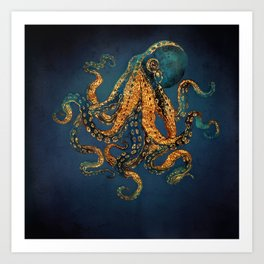 Underwater Dream IV Art Print