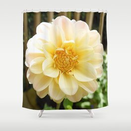 Dahlia Photo Shower Curtain