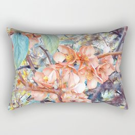 Aquarell Floral 05 Rectangular Pillow