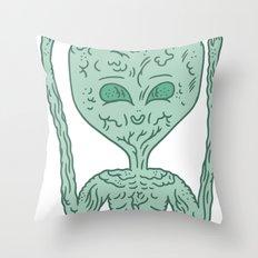 biological robotic avatar  Throw Pillow