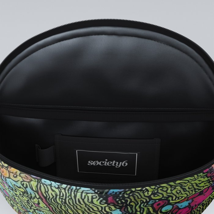 Abstract Penguin Fanny Pack