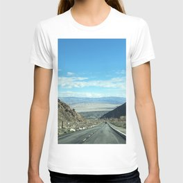 Mountain Road in Palm Springs California T-shirt