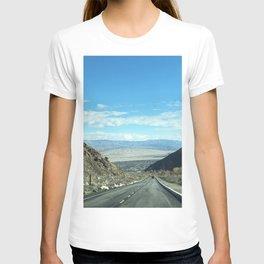 Mountain Road in Palm Springs California T-shirt