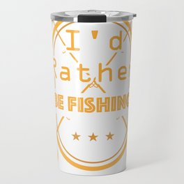 Fisherman Fishing Vintage Fathers Day Gifts Travel Mug