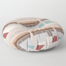 Cité Radieuse - Le Corbusier Floor Pillow