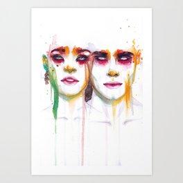 Silence and Echo Art Print