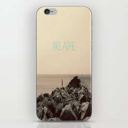 Just Breathe iPhone Skin