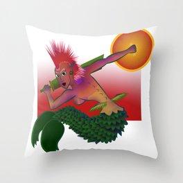 Mermaid of Warsaw Throw Pillow