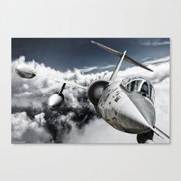 F-104 Starfighter Canvas Print