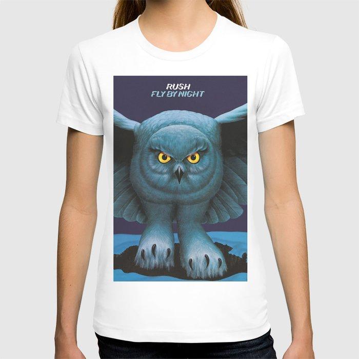Rush Girls Fly by Night Circle T-Shirt