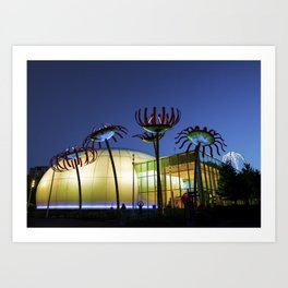 Seattle Glass Flowers - Chihuly Garden Art Print