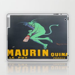 Vintage poster - Maurin Quina Laptop & iPad Skin