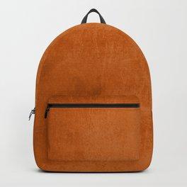 Orange rustic Backpack
