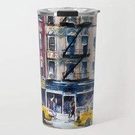 New York, wtercolor sketch Travel Mug