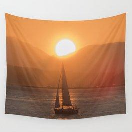Sail under the Sun Salish Sea Wall Tapestry