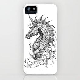 Dark Side Unicorn iPhone Case