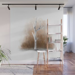 Watercolor Tree Wall Mural