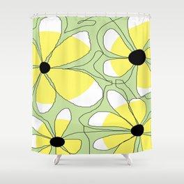 FLOWERY  MIA / ORIGINAL DANISH DESIGN bykazandholly Shower Curtain