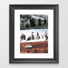 Their Time Has Come Framed Art Print