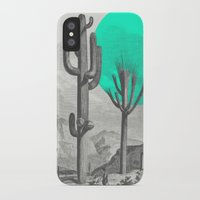 cacti iPhone & iPod Cases featuring Cacti by Zeke Tucker