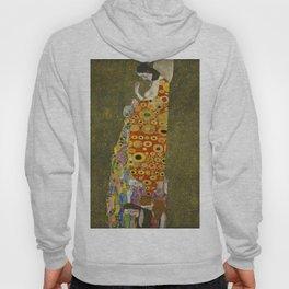 Hope II by Gustav Klimt Hoody