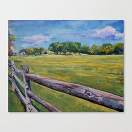 Pennsylvania Farm Canvas Print