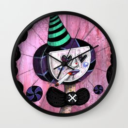 Big Sucker Print~! Wall Clock