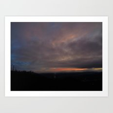 Sunrise 12/31/14 Art Print
