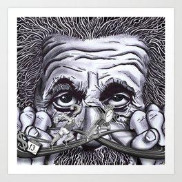 Einstein: The Patent Clerk Art Print