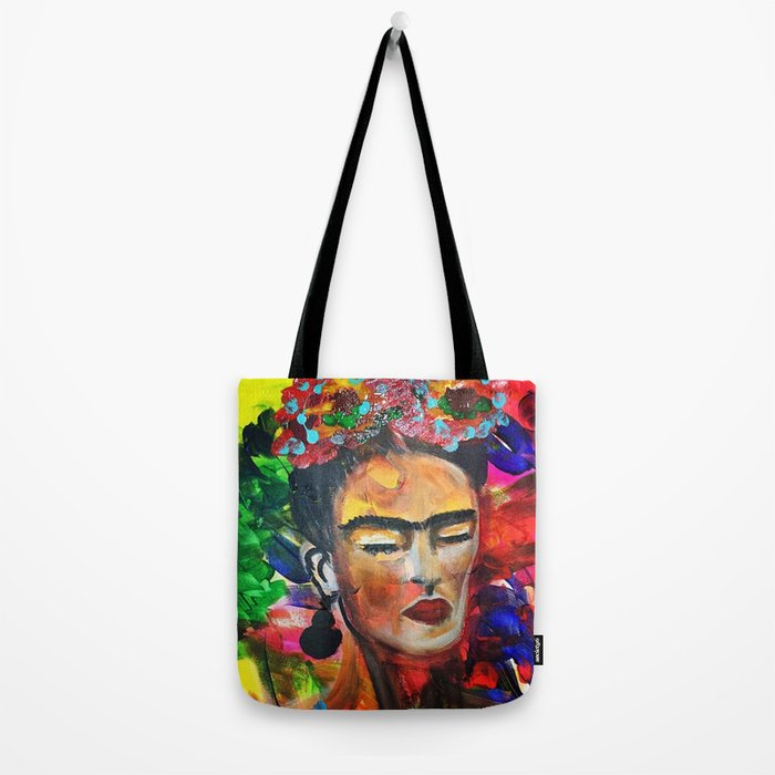 "Frida Kahlo ""Emotions"" Tote Bag"
