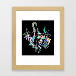 The Healing Serpent of the Mysteries Framed Art Print