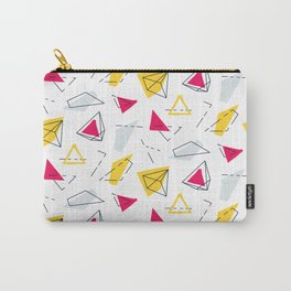 Red yellow geometric Carry-All Pouch