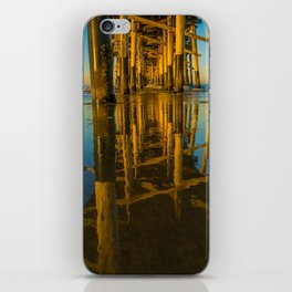 Mirror Under the Pier iPhone Skin